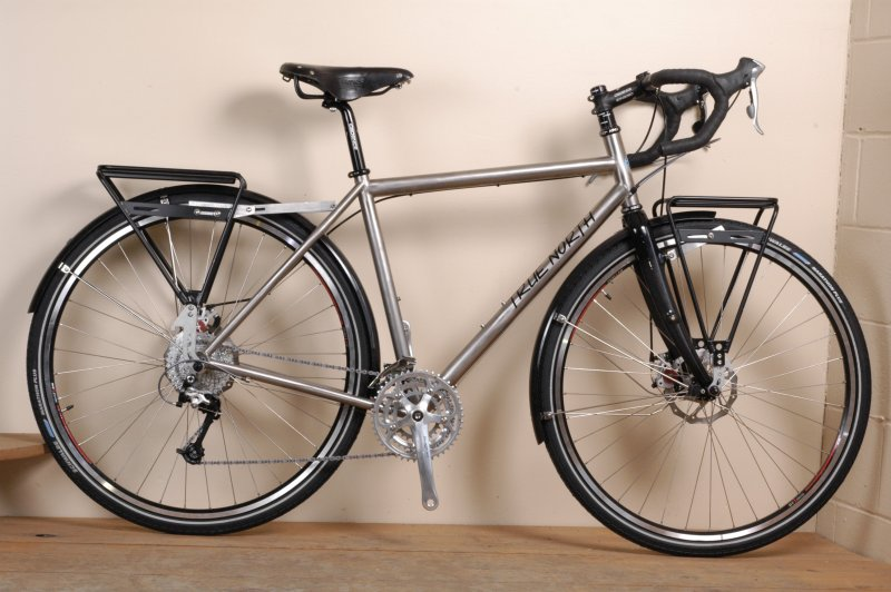 True North Cycles Blog Archive Titanium Touring Bike