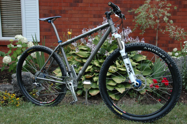 Dave's new S&S Ti 29er
